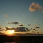 Sonnenuntergang Sizilien